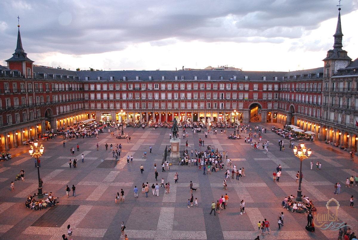 """الساحة الكبرى """"بلازا مايور"""" Plaza Mayor de Madrid"""