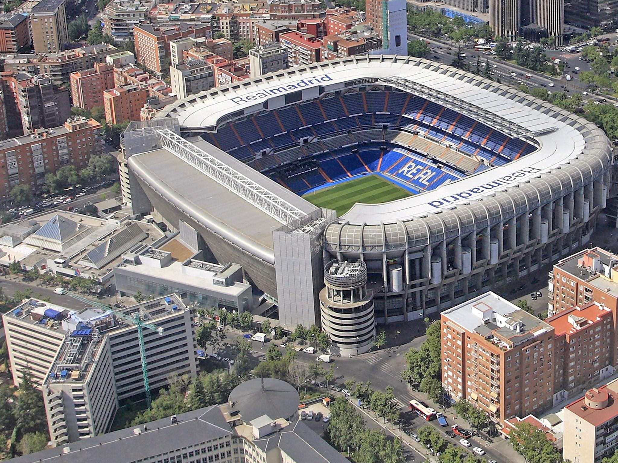 ملعب سانتياغو بيرنابيو Estadio Santiago Bernabéu